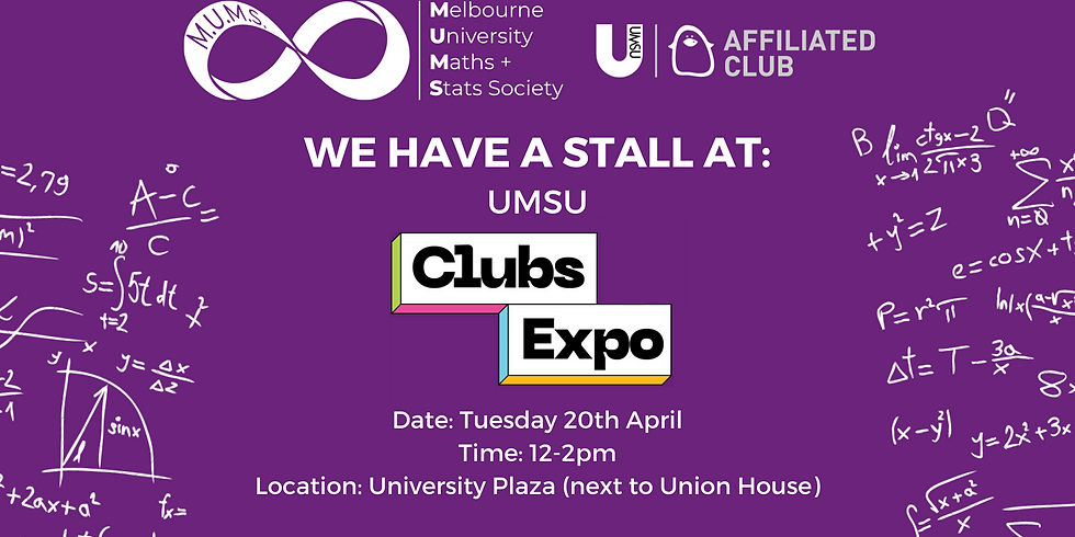 MUMS Stall at UMSU Clubs Expo