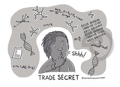 IP Symbols_Trade Secret Variation_b-w.jp