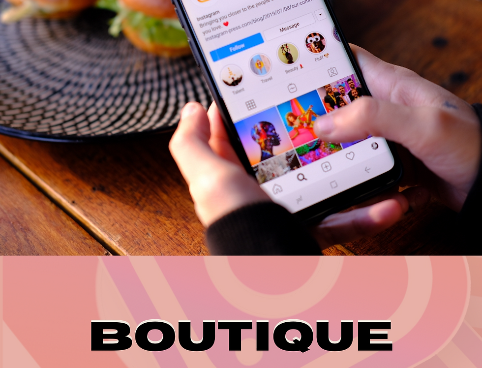 Boutique Social Media Template Pack