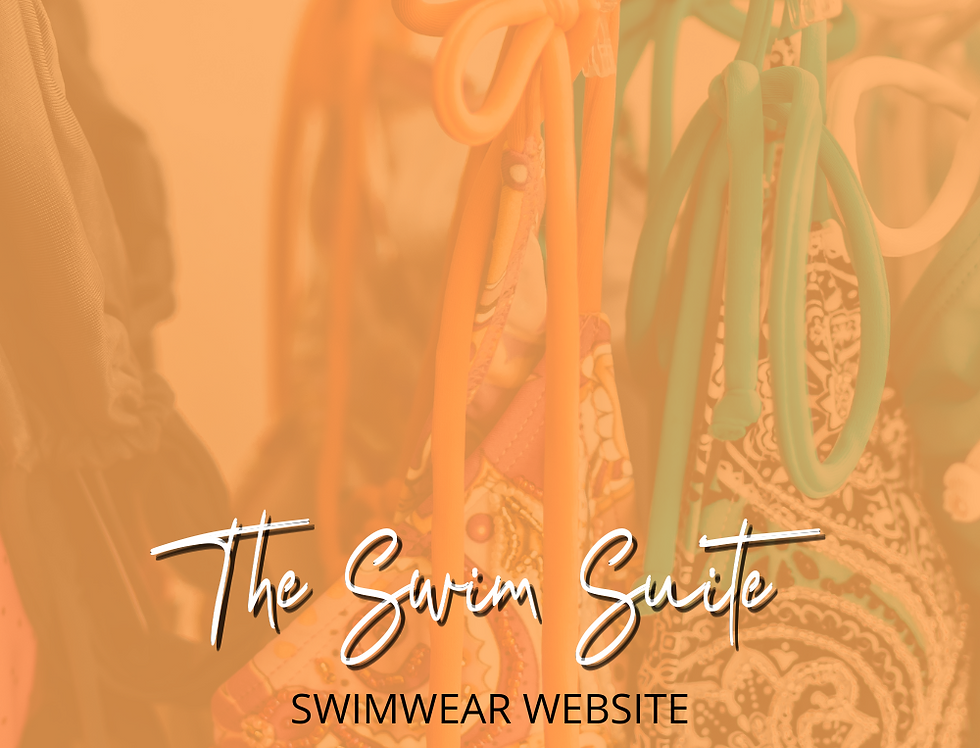 The Swim Suite - Premade Swimwear Business