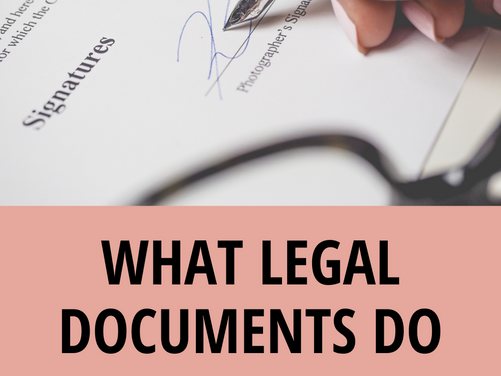 Legal Filings for Boutique Owners