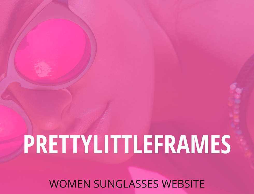 PrettyLittleFrames - Premade Sunglasses Business