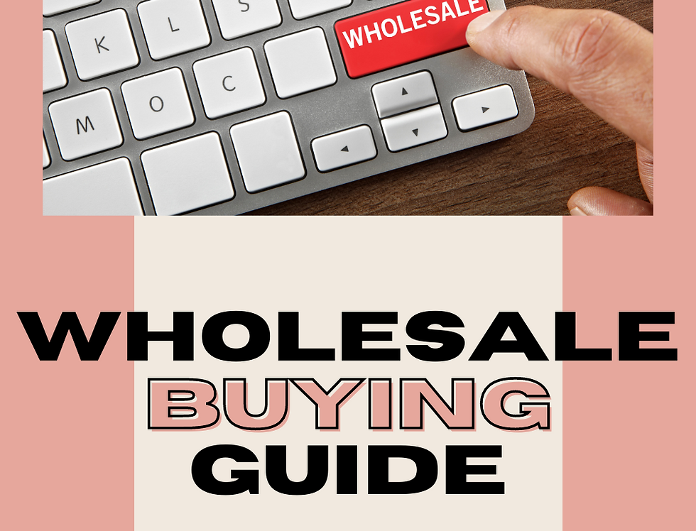Wholesale Buying Guide