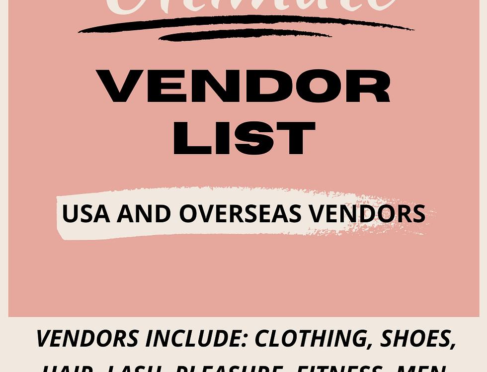 The Ultimate Wholesale Vendor List (400+ Vendors & Custom Packaging Vendor List)