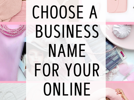 How-To Choose a Business Name for your eCommerce Business