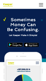 Teknologi og apper website templates – Money App