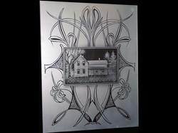 antique door house