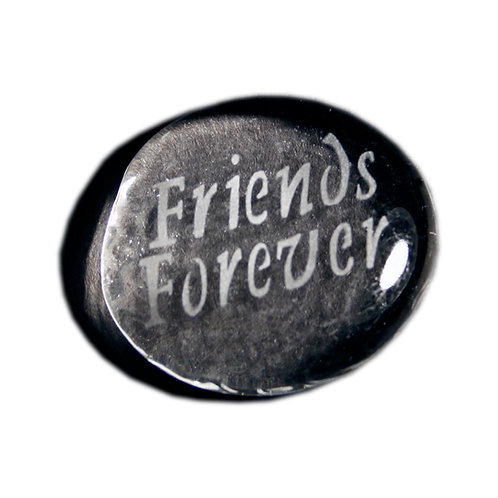 Friends Forever Etched on a Clear JagGem Code: W215 CL RFGA