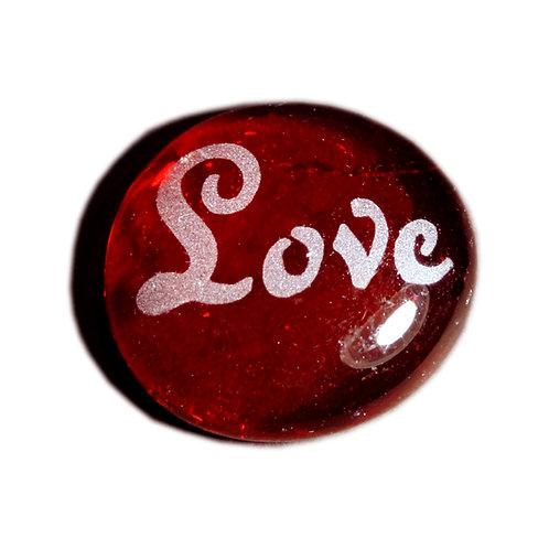 Love Etched on a JagGem  Code: W450 RD RFGA