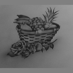 pantry fruit basket close up