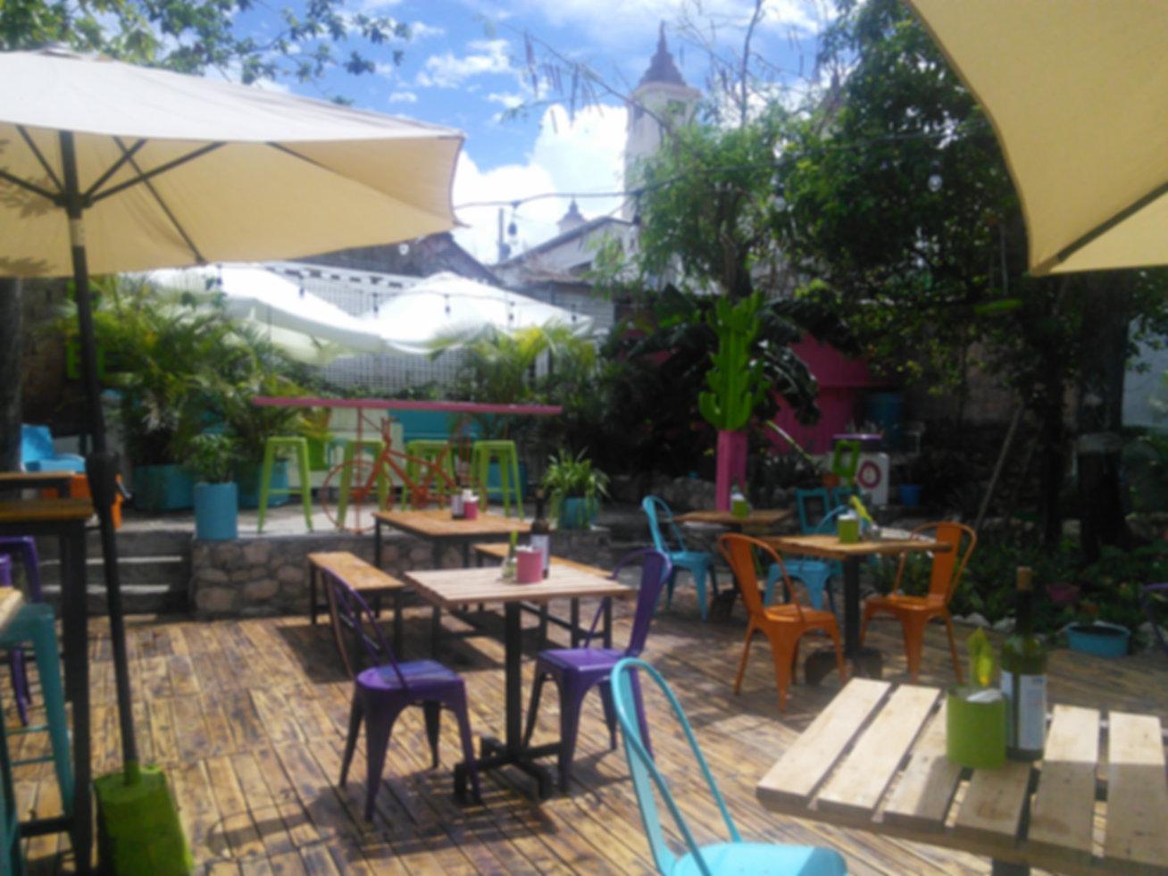 Puerto Plata, Bar Bistro, Buen Ambiente, Patio