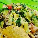 Nachos Vegetales / Pollo