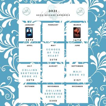 2021 Book Release Schedule