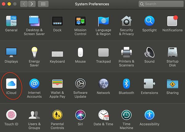 OSX - iCloud Settings.png