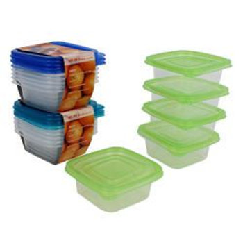 Containers,5Pc 11.8Ozsqrwlids