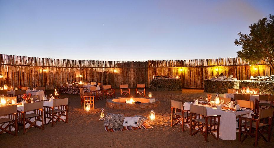 Imbali Safari Lodge - Boma Dinner.JPG