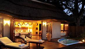 Imbali Safari Lodge - Suite Evening.JPG