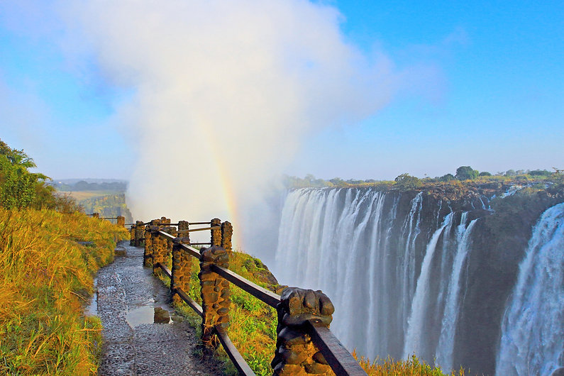 July 2017_ view of Victoria Falls  at Z