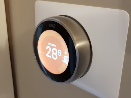 Nest smart thermostat installation in Cheshire