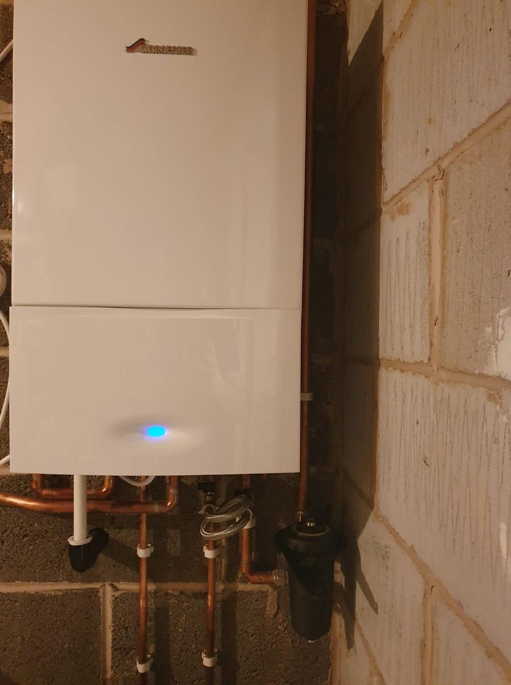 Worcester Bosch Greenstar 301 installation in Northwich by GO2 Heating Solutions