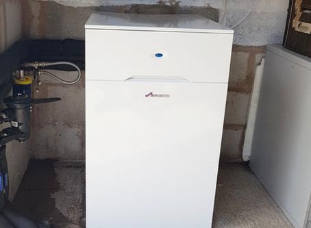 Worcester Bosch oil boiler install in Shropshire
