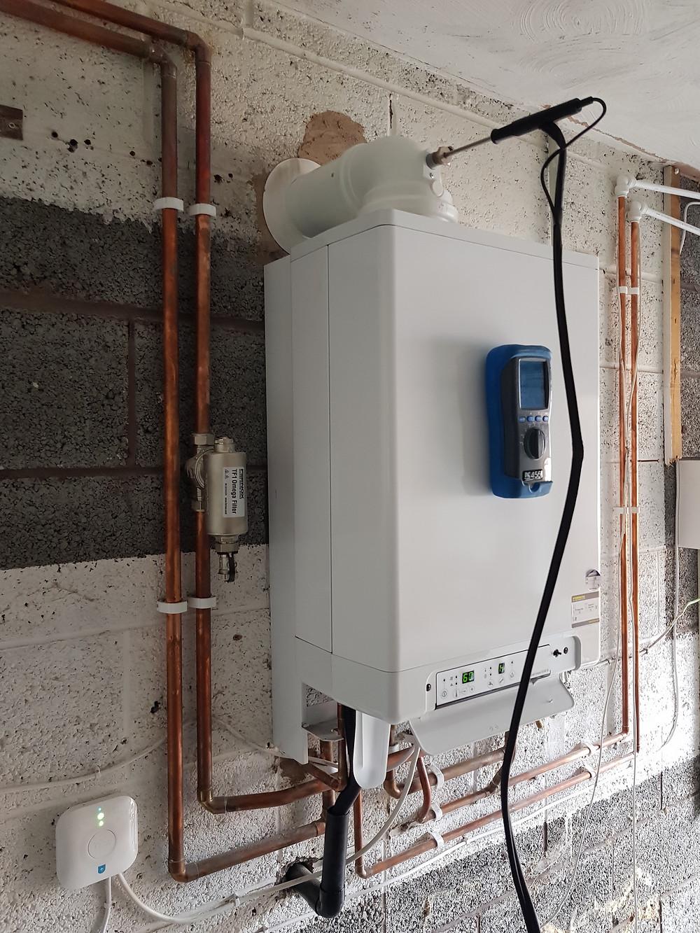 Intergas boiler installation by GO2 Heating Solutions Ltd