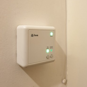 Hive Smart Home Thermostat install in Northwich, Cheshire