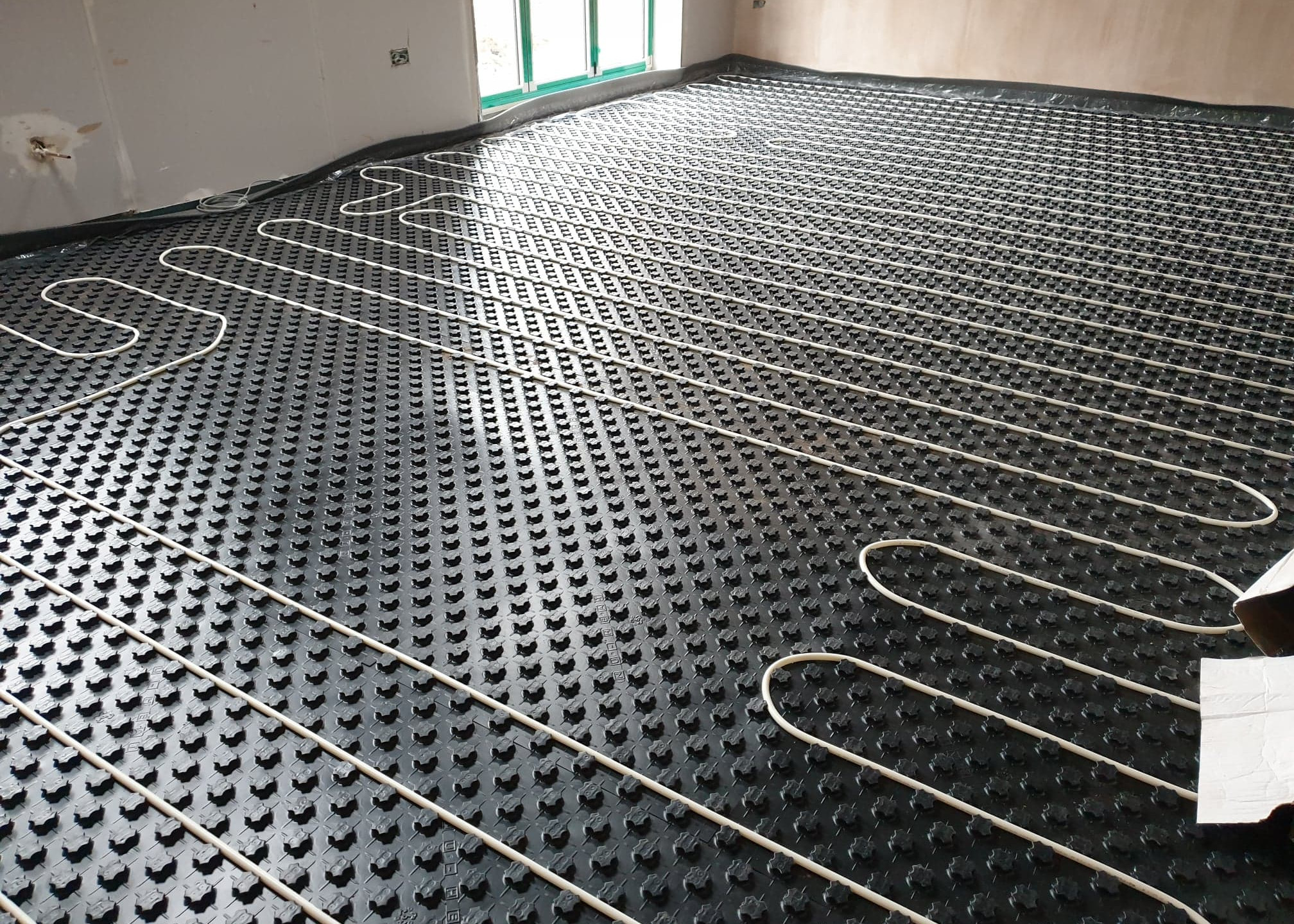 More underfloor heating in new build Shropshire home