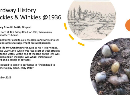 Hardway History - Cockles & Winkles @1936