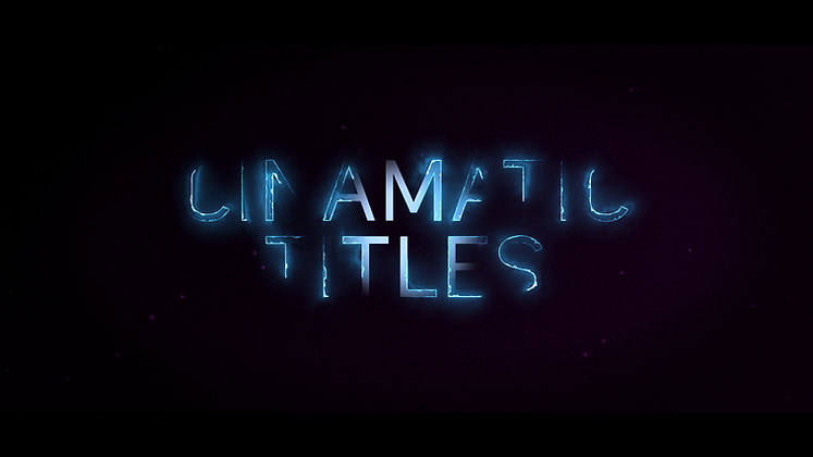 Cinematic trailer title - After effects Template