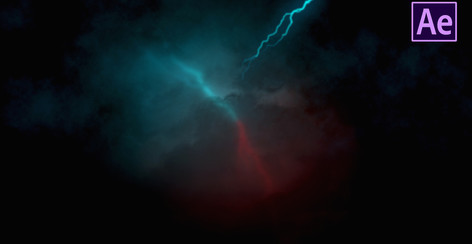 Realistic Lightning Cloud Animation in After effects   After Effects Tutorial - No Plugins