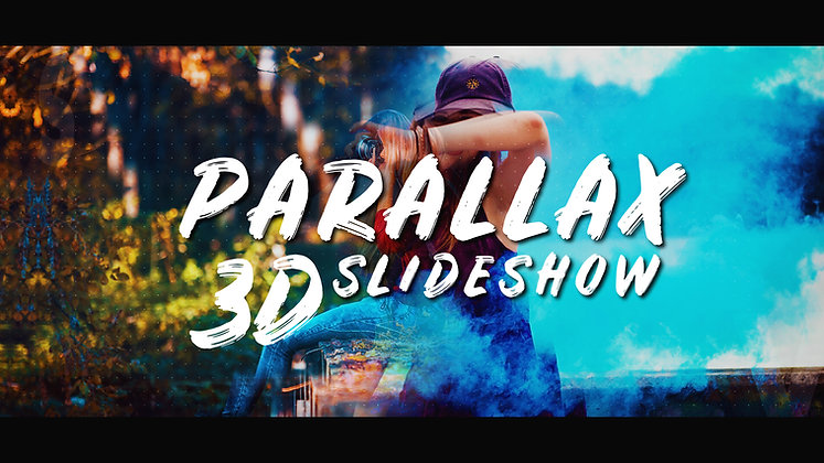 3D Parallax Slideshow - After Effects Template