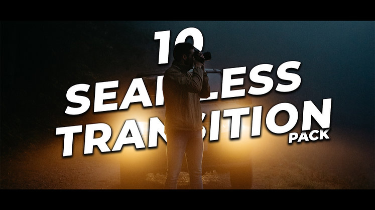 10 Seamless transition - After effects Template
