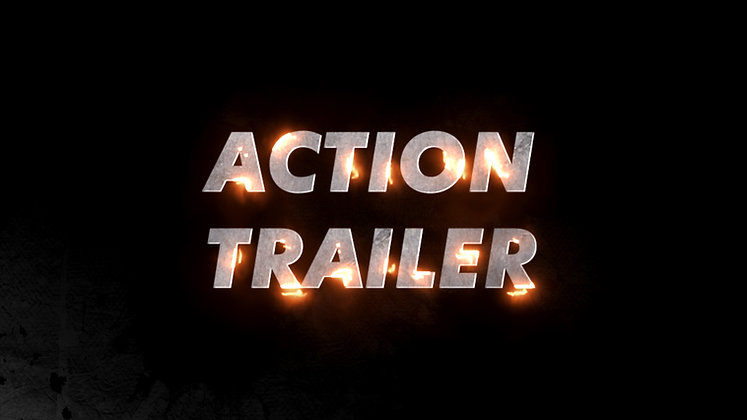 Cinematic Action Trailer Title - After effects Template