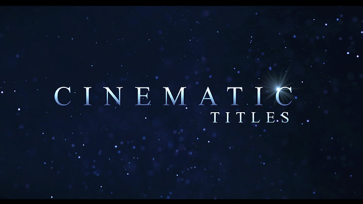 Fast Cinematic Title Trailer Animation - After effects Template