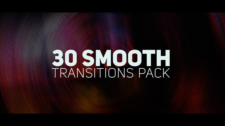 30 smooth transition - After effects Template