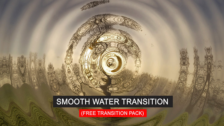 Smooth Water Transitions - After Effects Template