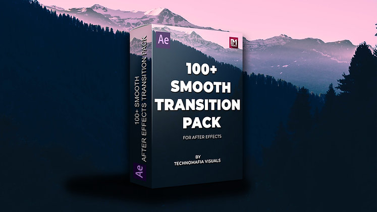 100+ Smooth Transition Pack - After Effects Template
