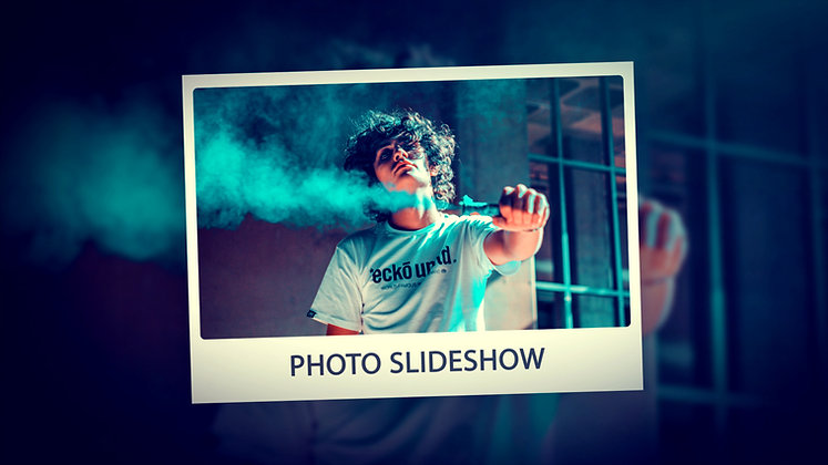 3D Photo Slideshow - After effects Template