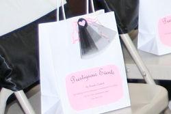 Personalized Fashion Show Swag Bag