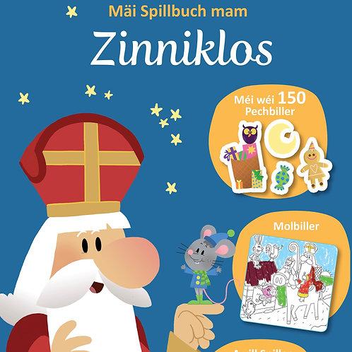 Mäi Spillbuch mam Zinniklos