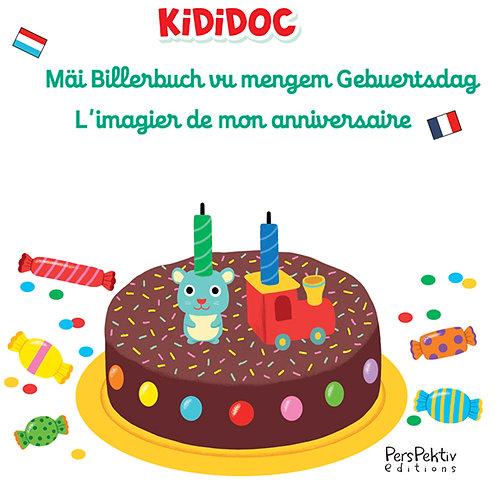 Mäi Billerbuch vu mengem Gebuertsdag • Mon imagier de l'anniversaire