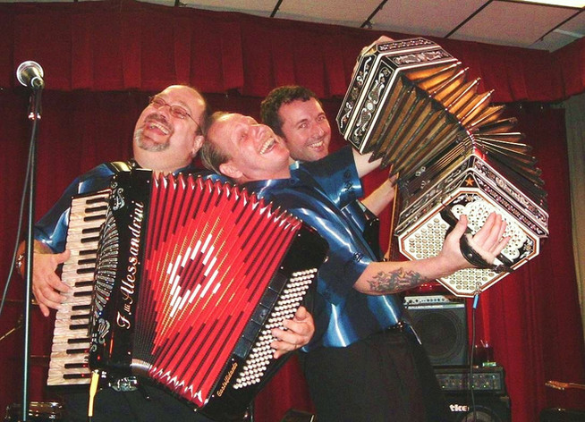 Al, Johnny and Greg