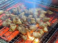 鳥煌四万十鶏もも炙り焼き
