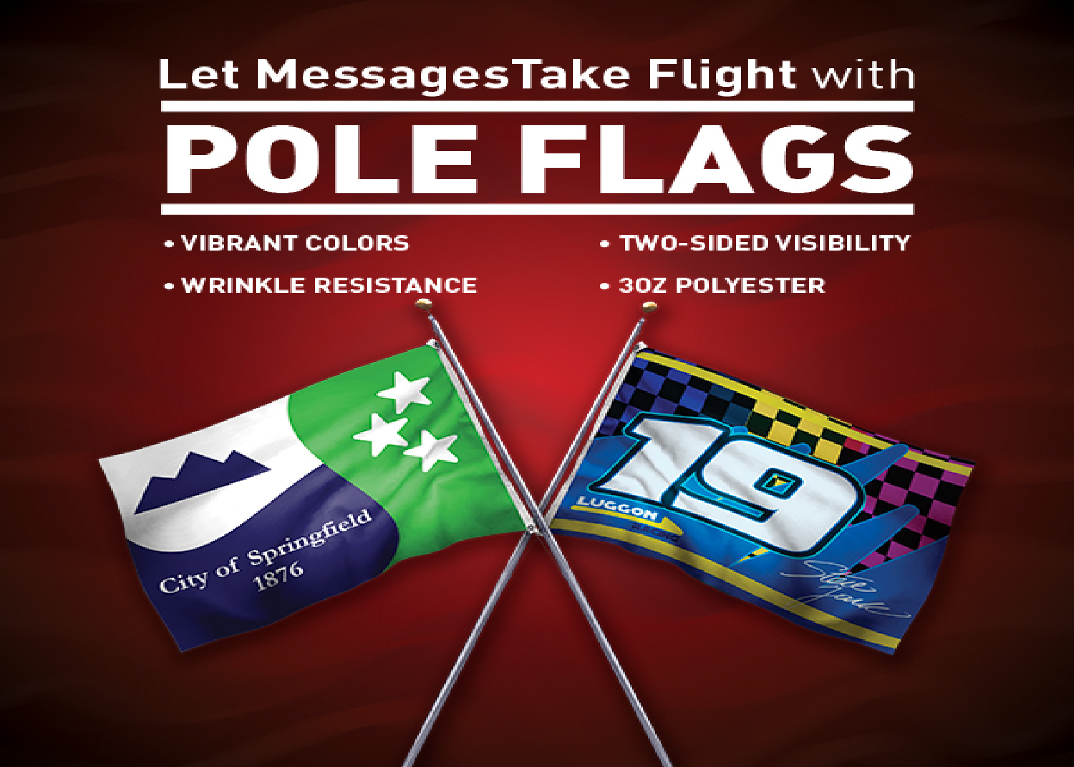 POLE FLAGS