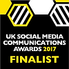 UK Social Media Awards 2017 Finalist Bad