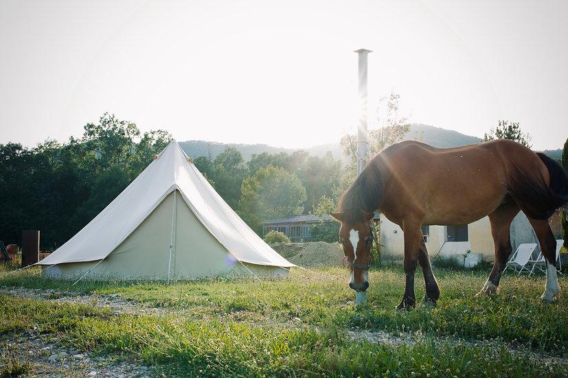 Adhésion Bivouac / camping / Chez l'habitant