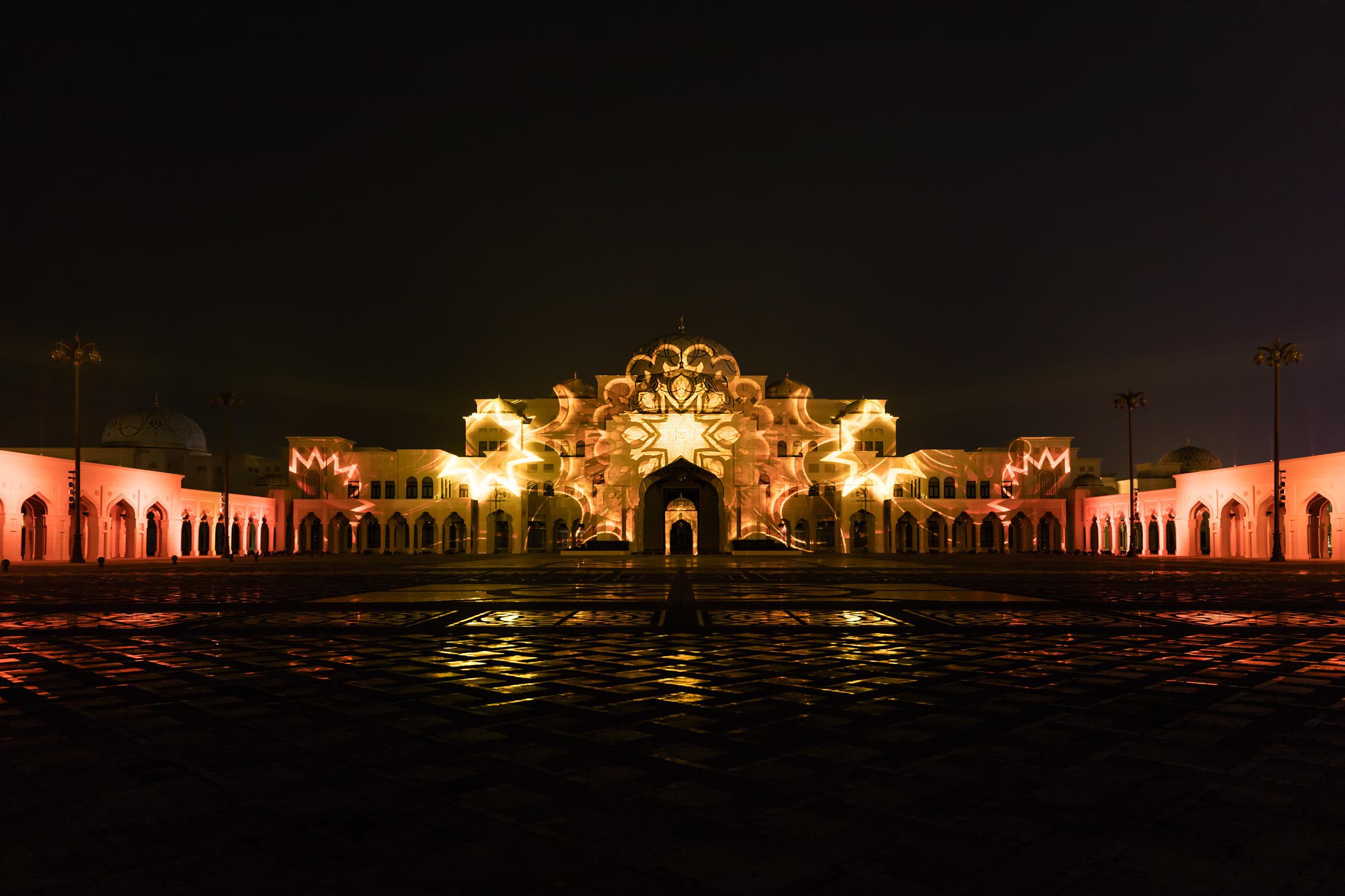 Palace in Motion - Qasr Al Watan, Abu Dhabi