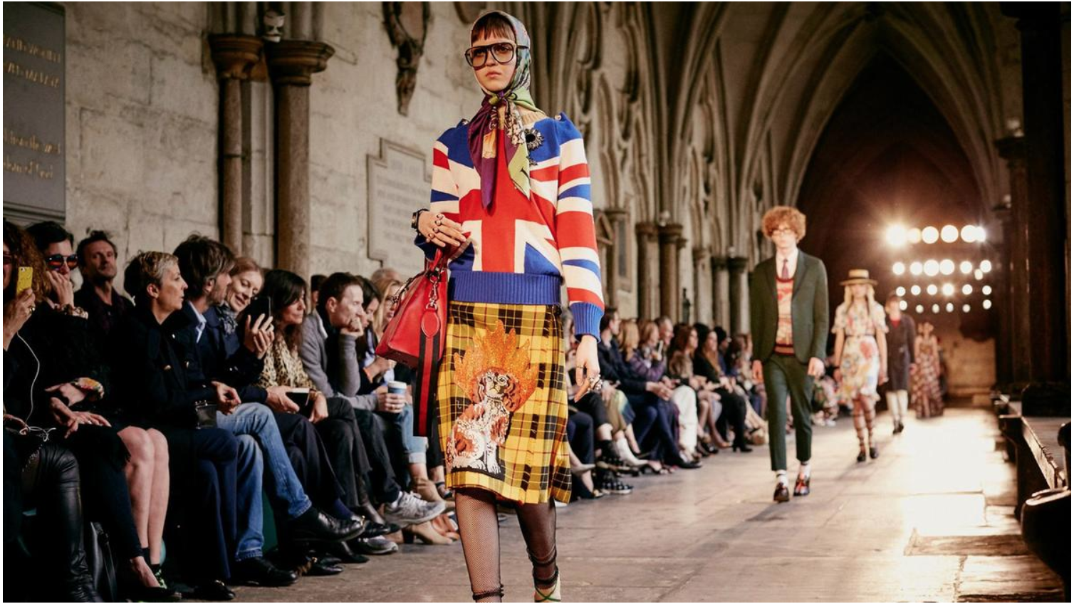 Gucci - Westminster Abbey 2016 for SS17