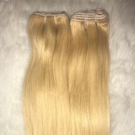 613 Raw Blonde straight